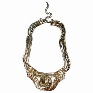 Gold Interlock Necklace